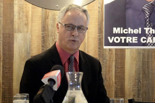 Michel Thiffault... (Photo Le Quotidien, Jeannot Lévesque)
