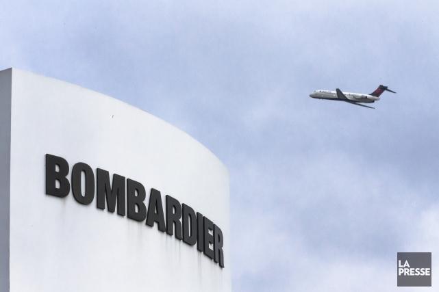 Bombardier... (La Presse)