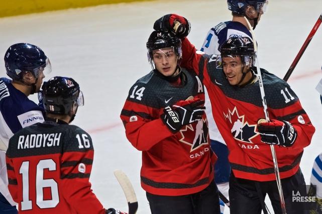 Le Canada a signé une victoire face à... (André Pichette, La Presse)