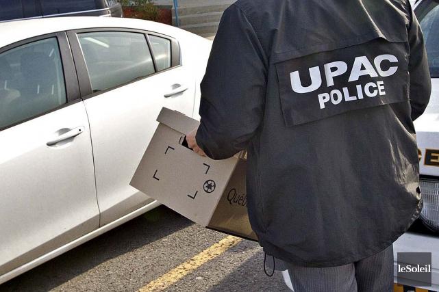 Les enquêteurs de l'UPAC ont voulu rencontrer la... (Photothèque Le Soleil)
