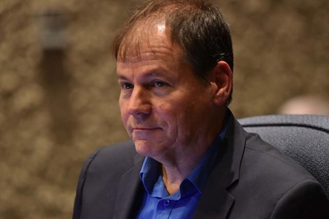 Le conseiller municipal Jean-François Aubin.... (François Gervais)