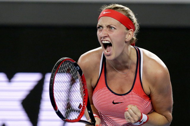 Petra Kvitova... (PHOTO AP)