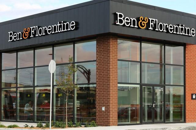 Ben & Florentine possède 41 succursales, dont trois... (Tirée du site Web de Ben & Florentine)