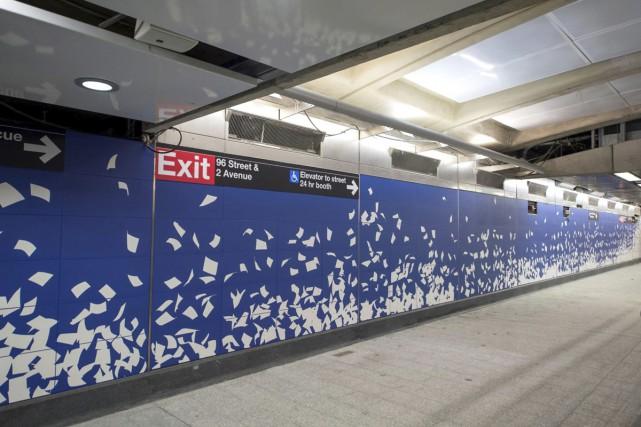 Les nouvelles stations de la Second Avenue Line... (PHOTO AP)