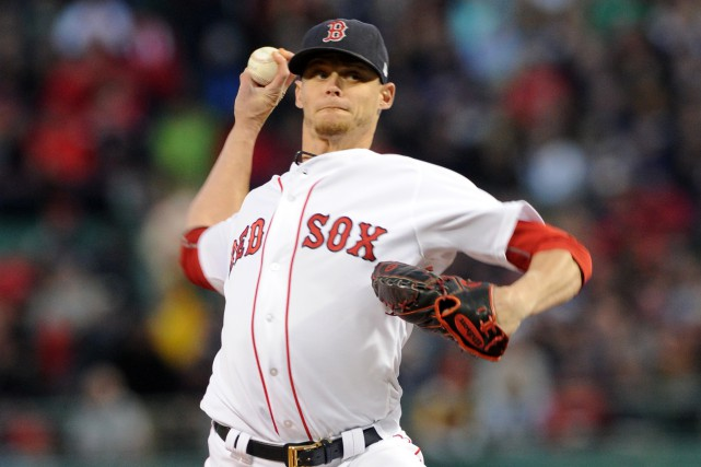 Clay Buchholz... (Photo Bob DeChiara, USA Today Sports)