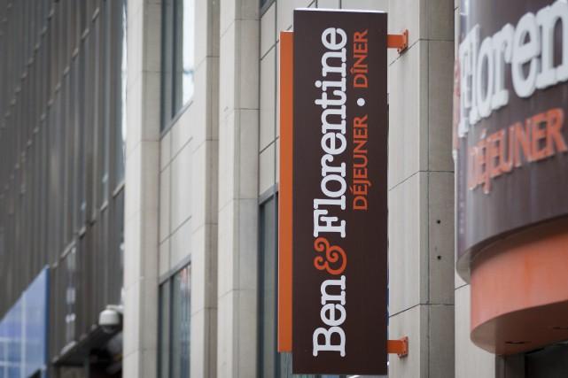La chaîne québécoise de restaurants de déjeuner, brunch et dîner Ben &... (Photo Ivanoh Demers, La Presse)