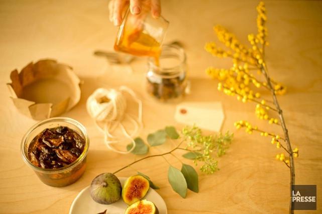 Figues au miel... (PHOTO DAVID BOILY, LA PRESSE)