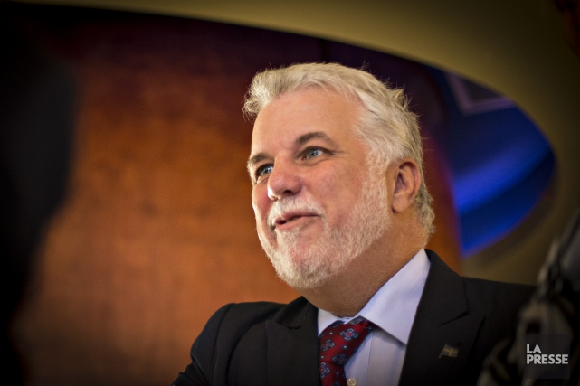 Philippe Couillard... (PHOTO Archives La Presse)