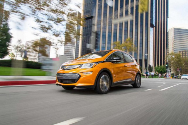 La Chevrolet Bolt.... (PHOTO MOTOR TREND)