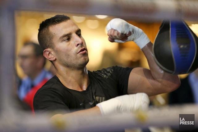 Le boxeur David Lemieux... (Archives, La Presse)