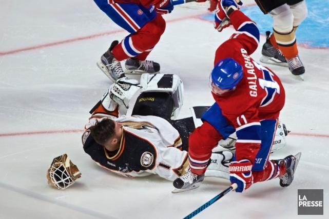 Relisez le clavardage du match entre le Canadien et les Ducks d'Anaheim avec... (La Presse, André Pichette)