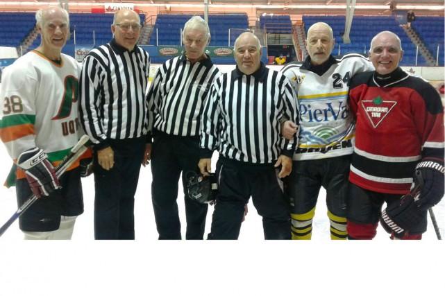 Ils imposent la loi chez les hockeyeurs boomers...... (Louis Beaudet)