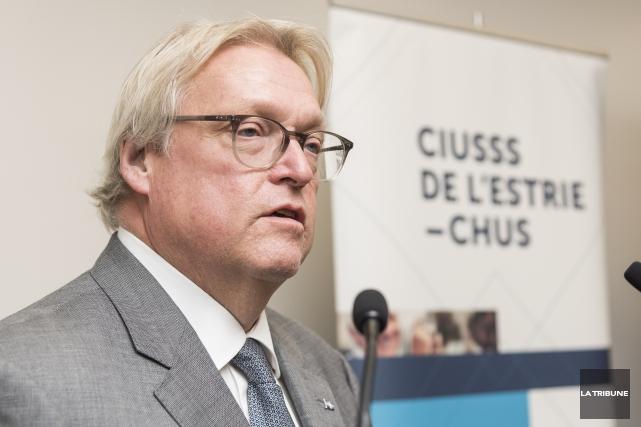 ÉDITORIAL / Le ministre de la Santé, Gaétan Barrette est persuadé qu'il pourra... (Archives, La Tribune)