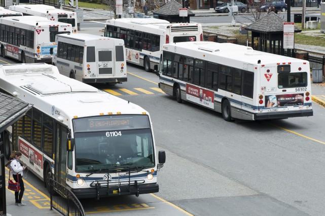 Comme l'an dernier, le surplus réalisé par la Société de transport Sherbrooke... (Archives, La Tribune)