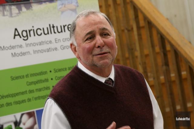 Pierre Paradis, ministre de l'Agriculture.... (Photo Janick Marois, archives La Voix de l'Est)