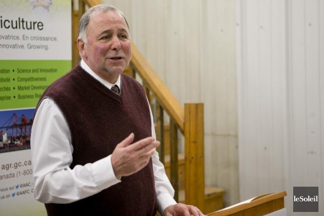 Le ministre de l'Agriculture, Pierre Paradis... (Photothèque Le Soleil)