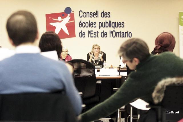 La vice-présidente du CEPEO, Lucille Collard... (Etienne Ranger, Le Droit)