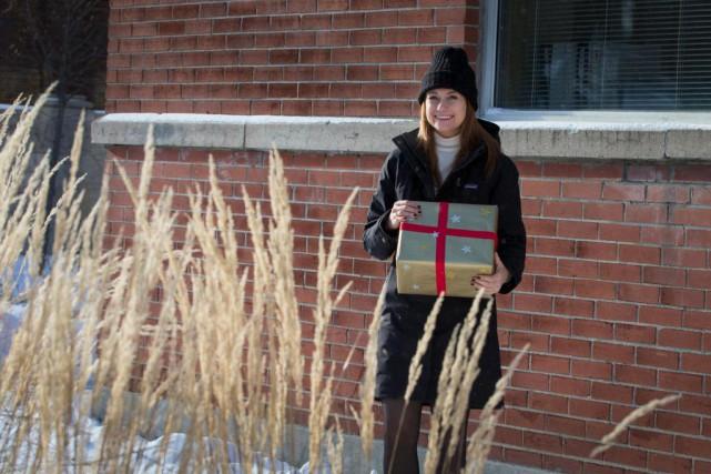Katherine Levac a choisi d'offrir un cadeau à... (PhotoIVANOH DEMERS, LA PRESSE)