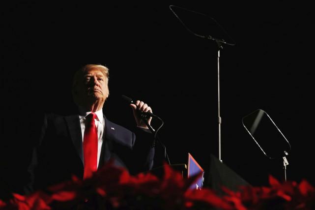Ce faisant, Donald Trump a rompu avec la... (photo Lucas Jackson, archives REUTERS)