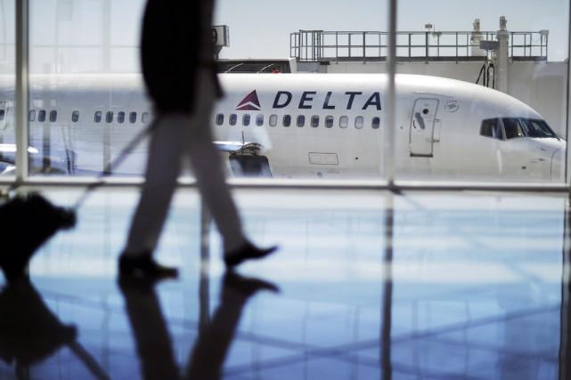 Poussé à réagir, Delta a publié un communiqué,... (photo David Goldman, archives AP)