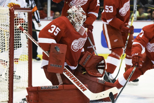 Jimmy Howard... (Photo Jose Juarez, AP)