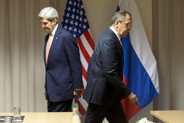 Le chef de la diplomatie russe, Sergueï Lavrov... (ARCHIVES REUTERS)