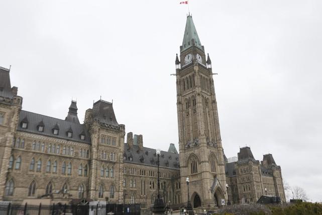 Le Parlement à Ottawa.... (Photo Simon Séguin-Bertrand, archives Le Droit)