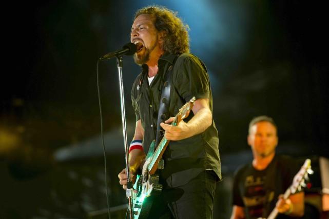 Pearl Jam en 2012... (Archives AP, Drew Gurian)