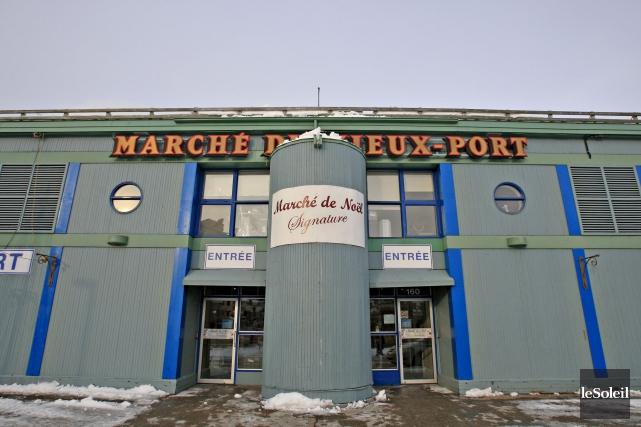 Le déménagement du Marché du Vieux-Port équivaut à... (Photothèque Le Soleil, Pascal Ratthé)