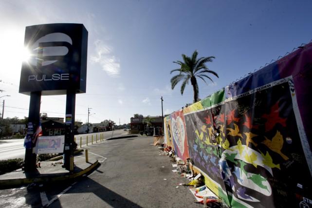 Le club Pulse a été le théâtre dela... (PHOTO AP)