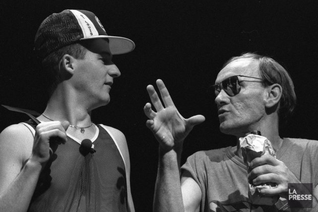 Trente-trois années d'amitié lient Dany Turcotte et Dominique... (Archives La Presse, Robert Mailloux)
