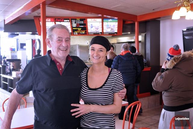 Paulo Cossette, propriétaire du restaurant Chez Paulo de... (Archives Le Quotidien, Rocket Lavoie)