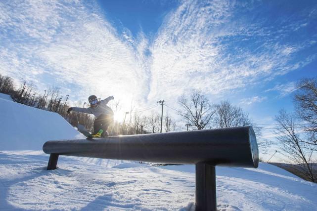 Si ça fait un moment que vous n'avez pas glissé dans un parc à neige, il serait... (Fournie par Sommet Saint-Sauveur)