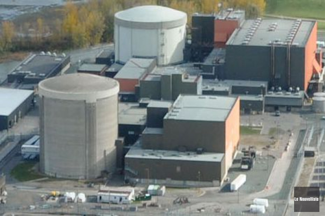 La centrale nucléaire Gentilly-2.... (Archives Le Nouvelliste)