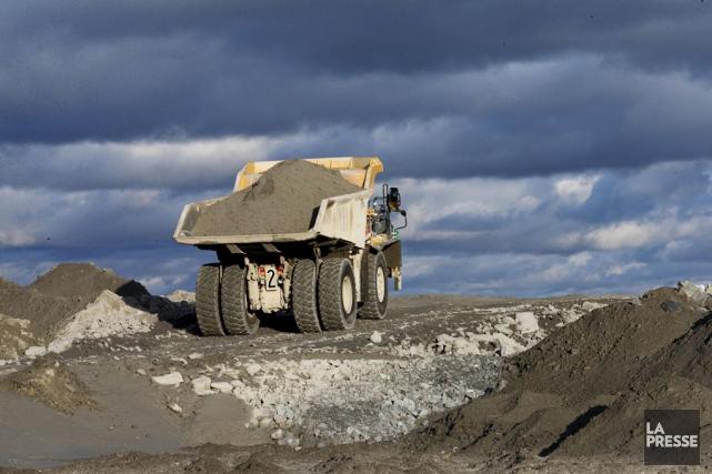 Certains projets d'exploration minière sèment l'inquiétude auprès des... (Archives, La Presse)