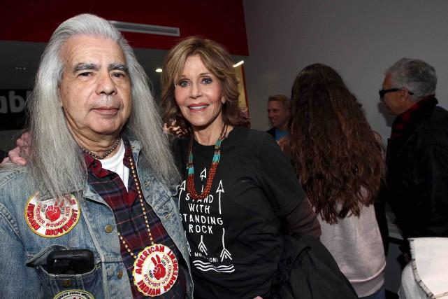 Jane Fonda a imploré Donald Trump de soutenir... (AFP, Tommaso Boddi)