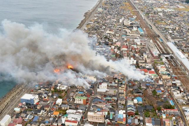 Un avis d'évacuation a été donné à quelque... (REUTERS)