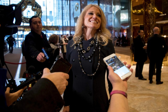 Kellyanne Conway a été la troisième directrice de... (AFP, JIM WATSON)