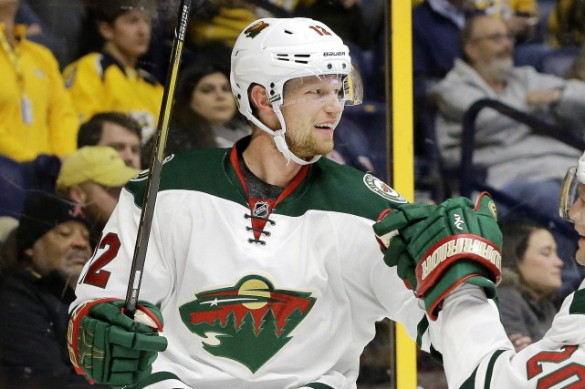 Eric Staal totalise déjà 25 points en 31 matchs... (Photo Mark Humphrey, AP)