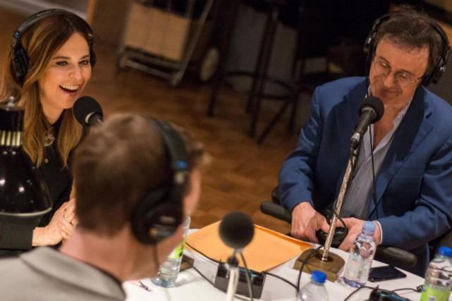 Le jour de Noël, l'émission au complet de... (Photo fournie par ICI Radio-Canada)