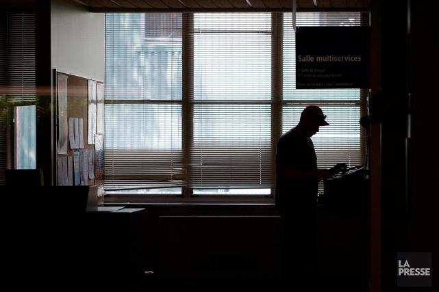 Le taux d'assistance sociale, de 6,2%, est à... (Martin Chamberland, archives La Presse)