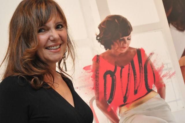 Joanne Corneau à l'ouverture de l'événement mode Panache... (Photo archives Le Quotidien, Michel Tremblay)