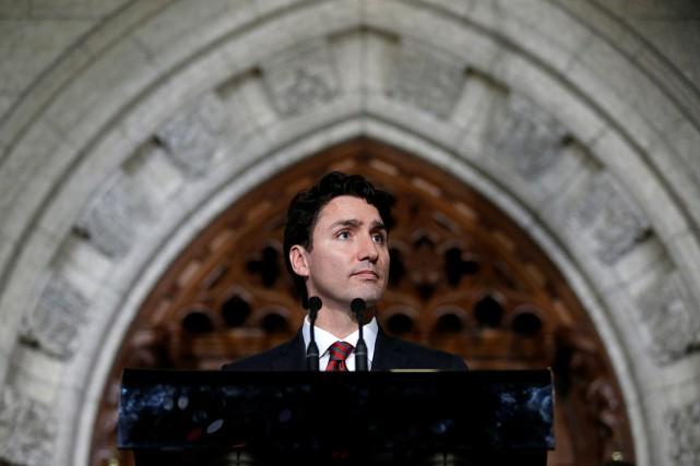 Le premier ministre Justin Trudeau... (Chris Wattie, Reuters)