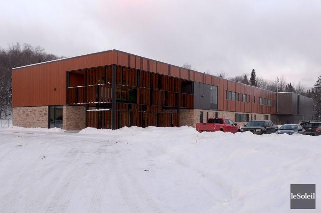 L'école Montagnac de Lac-Beauport... (Le Soleil, Erick Labbé)