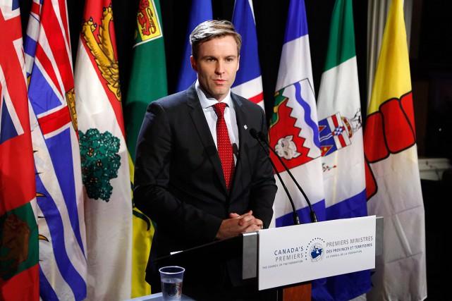 Le premier ministre du Nouveau-Brunswick, Brian Gallant.... (Patrick Doyle, PC)
