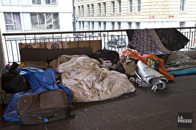 Le Réseau d'aide aux personnes seules et itinérantes... (Archives La Presse, Patrick Sanfaçon)
