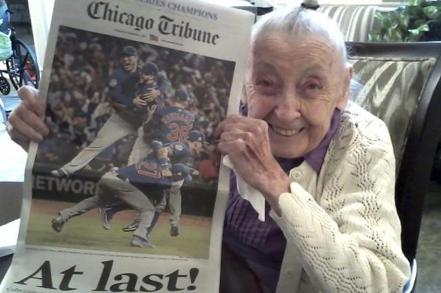Helen Weithmanest décédée le 29 novembre, à l'âge... (Associated Press)