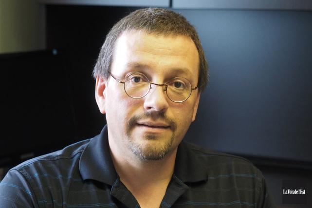 Le président du Syndicat de l'enseignement de la... (Alain Dion, archives La Voix de l'Est)