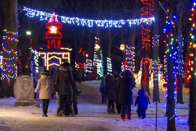 L'événement Noël en lumière se poursuit jusqu'au 8... (Olivier Croteau)