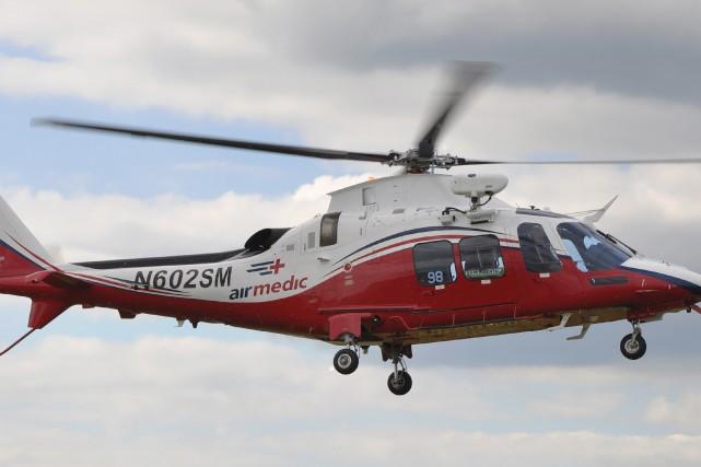 Airmedic... (Photo courtoisie)